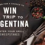 Trapiche Master Your Grill Win A Trip To Argentina Sweepstakes – Win A Fiat 500X