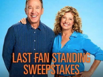 Last Fan Standing Sweepstakes