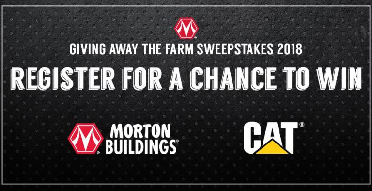 Morton Buildings Giving Away the Farm Sweepstakes