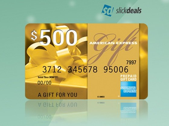 Slickdeals Gift Card Sweepstakes
