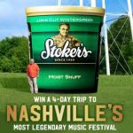 Stoker's World's Largest Tub Sweepstakes 2018 – Win A VIP Concert Experience