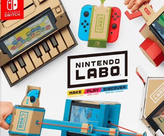 Win a Nintendo Labo OR Amazon Gift Card