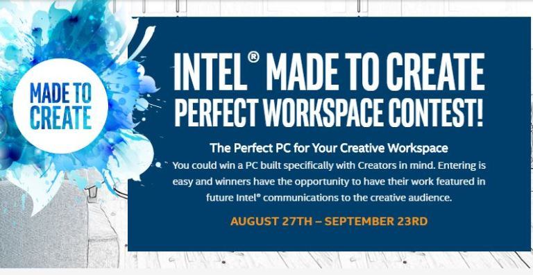 Intel Made to Create Perfect Workspace Contest 2018