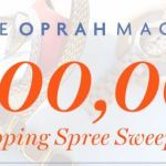 Oprah Shopping Spree Sweepstakes 2018 – Win $1,00,000 Cash Prizes