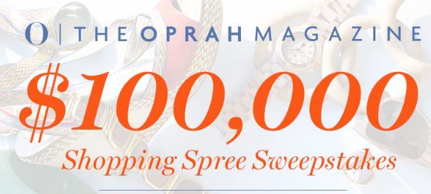 Oprah Shopping Spree Sweepstakes 2018