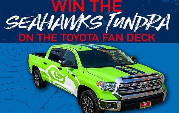 Seahawks.com Toyota Tundra Giveaway