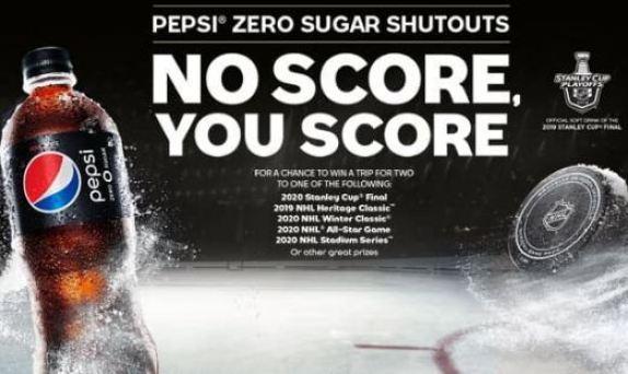 Pepsi Zero Sugar Shutouts Sweepstakes -win a Trip
