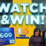 WTVR & CBS 6 Watch -Win $600 Walmart Gift Card Giveaway