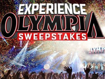 Muscle & Fitness Experience Olympia Sweepstakes
