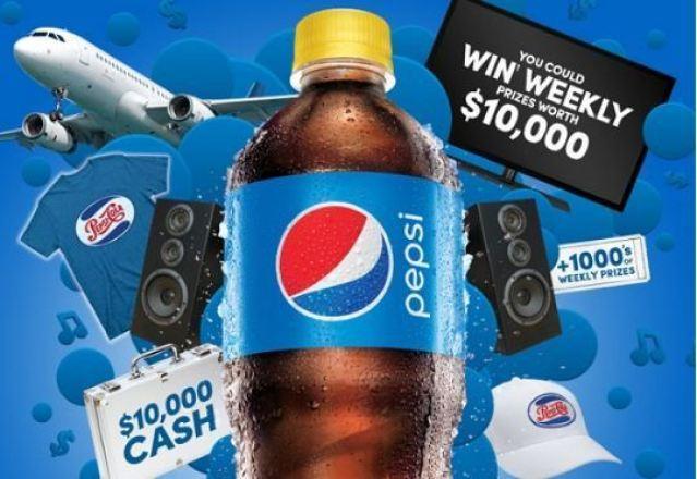 Drink Pepsi Get Pepsi Stuff Contest - Win $10000 Cash