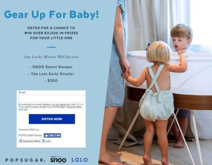 Popsugar Gear Up For Baby Giveaway
