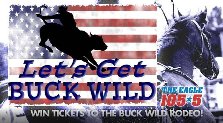 Buck Wild At The Rodeo Contest – Win Tickets