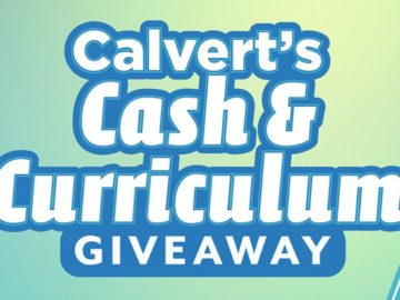 Calvert Education Cash and Curriculum Sweepstakes - Win A