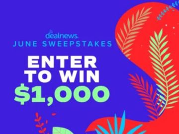 DealNews Sweepstakes 2019 - Win A Gift Card