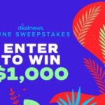 DealNews Sweepstakes – Win A Gift Card