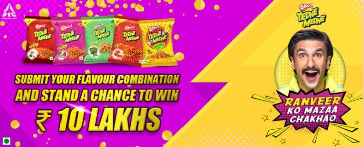 Ranveer ko Mazaa Chakhaao Contest