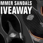 Harley-Davidson Summer Sandals Giveaway – Win pair of Harley-Davidson sandals