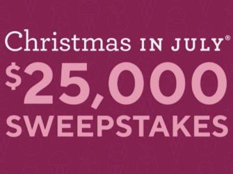 Christmas In July Qvc.Qvc Christmas In July Sweepstakes Win Cash Prize