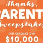 Stonyfield Thanks Parents Sweepstakes – Win Cash Prize