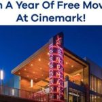 Cinemark Launch Sweepstakes – Win Free Movies