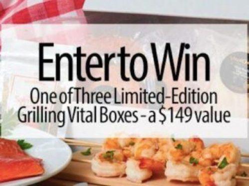 Grilling Vital Box Contest 2019