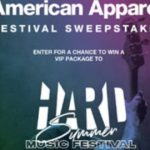 American Apparel Festival Sweepstakes – Win A Trip