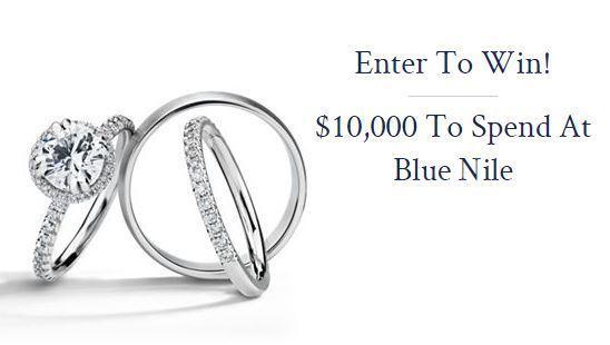 Blue Nile $10000 Jewelry Sweepstakes - Win Jewelry
