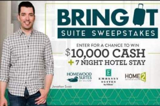 Hgtv Bring It Suite Sweepstakes - Win Cash