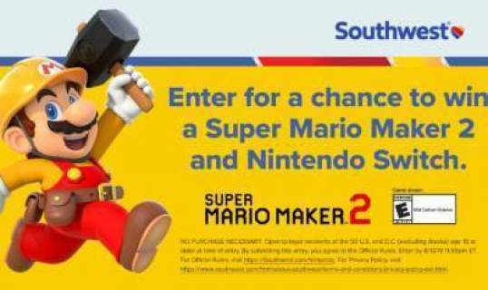 Southwest Nintendo Let's Play Getaway Sweepstakes