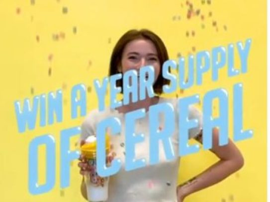 Crunch Cup Cereal Sweepstakes