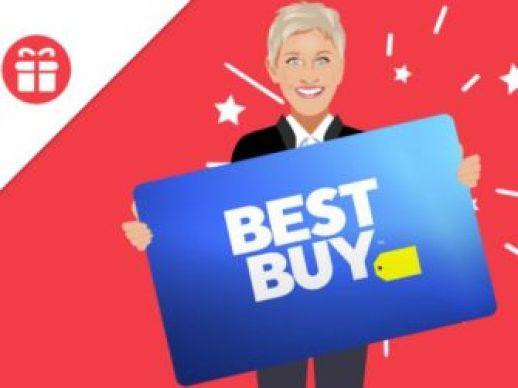 Ellen Tube Win a $500 Best Buy Gift Card