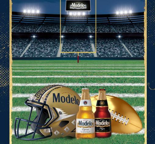 Modelo Football Instant Win Game Sweepstakes – Win Hometown Visit