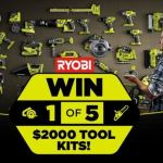 Tenplay The Living Room Ryobi competition – Win Cash Prize