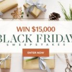 Martha Stewart $15000 Black Friday Sweepstakes (marthastewart.com)
