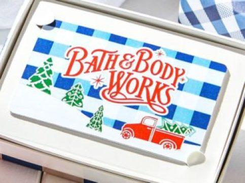 Bath & Body Works Santa's Gift Card Giveway