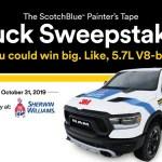 3M Company ScotchBlue Painter's Tape Sweepstakes (propaintersweeps.3m.com)