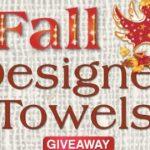 Quacker Factory Fall Designer Towels Giveaway (quackerfactory.com)