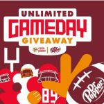 Dr Pepper Cicis Unlimited Game Day Giveaway (unlimited.clk2enter.com)