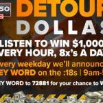 Detour Dollar$ Giveaway (wwjnewsradio.radio.com)