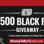 Money Talks News Black Friday Giveaway (unb.moneytalksnews.com)