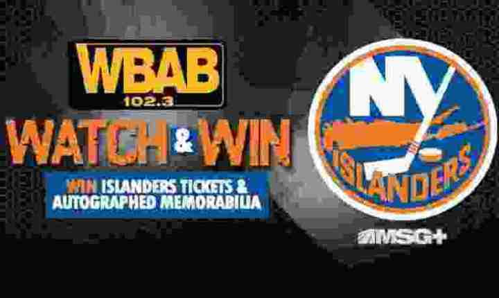 WBAB Islanders Player to Watch Sweepstakes