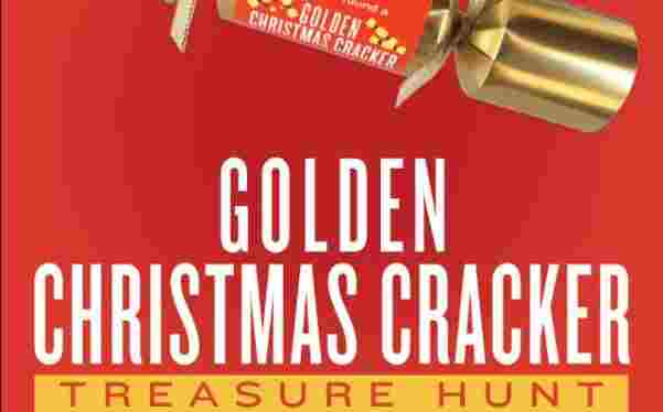 Cost Plus World Market Golden Christmas Cracker Treasure Hunt Sweepstakes