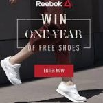 Reebok One Year Of Sneakers Giveaway