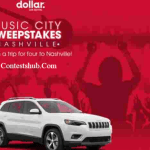 Dollar Music City Sweepstakes (dollar.com)