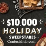 Frito-Lay Tasty Rewards $10000 Holiday Sweepstakes (tastyrewards.com)