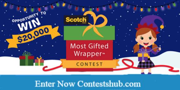 Ellen DeGeneres Most Gifted Wrapper Contest