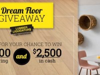 Lumber Liquidators Dream Floor 2020 Giveaway