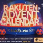Rakuten FC Barcelona Sweepstakes (rakutenadvent.fcbarcelona.com)