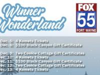 FOX 55 Winner Wonderland Sweepstakes