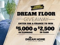 DIY Network Dream Floor Giveaway